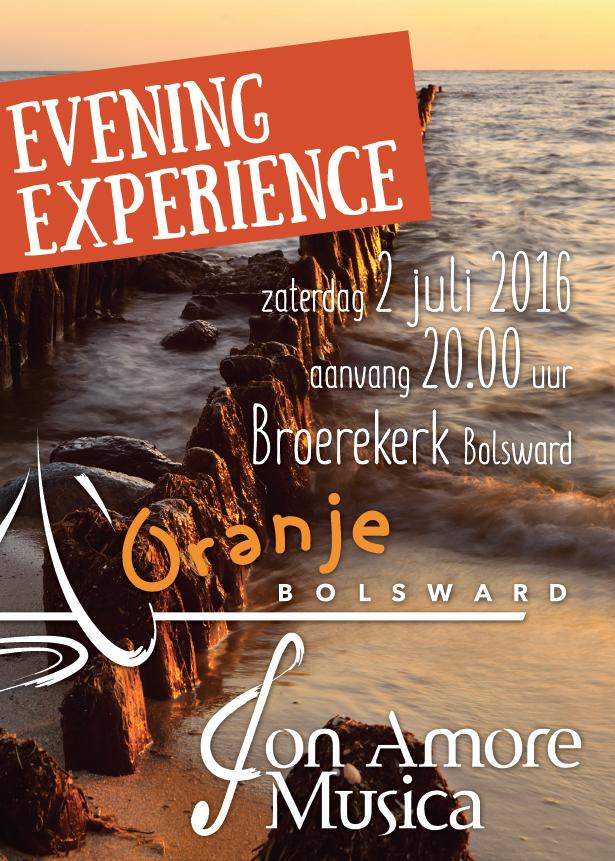 Evening experience CMV Oranje